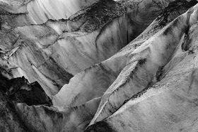 Günter Kozeny: Island; Vatnajökull; Gletschereis und Lava