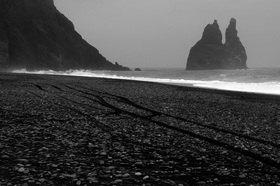 Günter Kozeny: Island; Strand bei »Höfn«