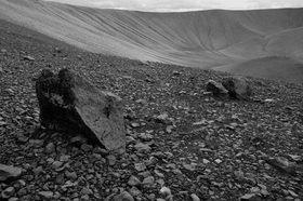 Günter Kozeny: Island; Vulkankrater am Myvatn