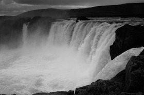 Günter Kozeny: Island; »Godafoss«; Nordisland