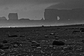 Günter Kozeny: Island; Cap Dyrholaey