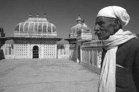 Günter Kozeny: Indien; Udaipur; Palastaufseher