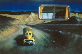 Günter Kozeny: Airbrush auf Wohnmobil