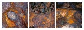 Günter Kozeny: Rost Triptychon