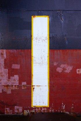 Hartmann / Banse: Bordwand 1. Nach Piet Mondrian