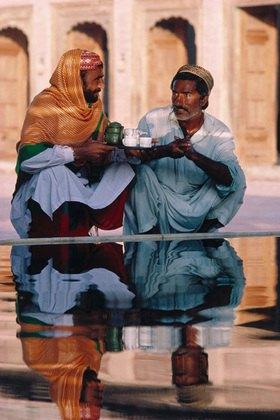 Horst A. Friedrichs: Tee im Tempel