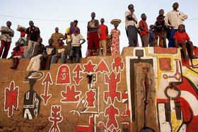 Horst A. Friedrichs: Africa Mali SEGOU Peopel during the Festival Sur Le Niger