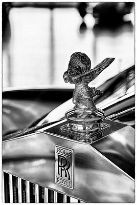 "Horst A. Friedrichs: Rolls Royce ""Spirit of Ecstasy"" Emily"