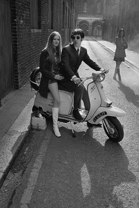 Horst A. Friedrichs: 21st century Mods, Phil and Steph, London
