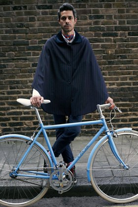 Horst A. Friedrichs: Cycle Style.<p>Otto rides Viva Bellissimo