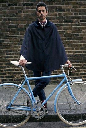 Horst A. Friedrichs: Cycle Style.<p>Otto rides Viva Bellissimo
