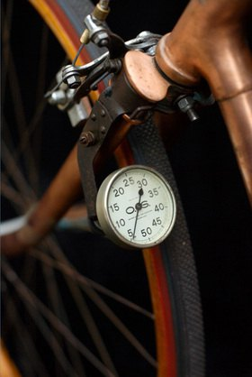 Horst A. Friedrichs: Cycle Style.<p>La Greve Tour de France 1920 with Speedometer