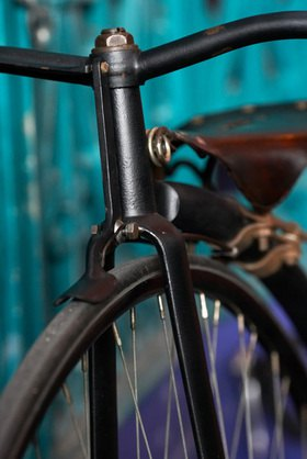 Horst A. Friedrichs: Cycle Style,High Wheel Bicycle