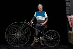 Horst A. Friedrichs: Cycle Style.<p>Cally with Lawson Bicyclette re-creation