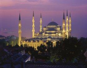 Sultan Ahmet Moschee, Istanbul, Marmaragebiet, Türkei