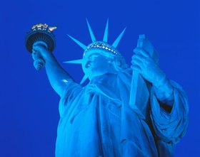 Freiheitsstatue, Liberty Island, New York City, New York, USA