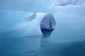 Treibeis am Prince Williams Sound, Alaska, USA