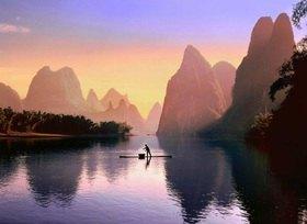 Guilin bei Yangshuo, Guangxi, China