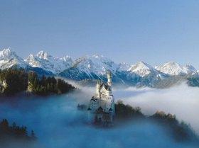 Schloß Neuschwanstein, Füssen, Schwaben, Bayern, Deutschland