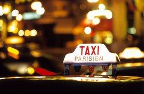 Taxilicht, Paris, Ile de France, Frankreich