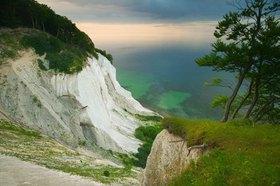 Kreidefelsen auf der Insel Mon, Dänemark