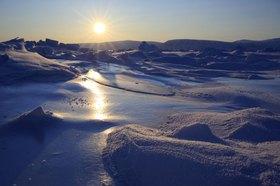 Küstenlandschaft von Qaanaaq, Westk¸ste, Grönland