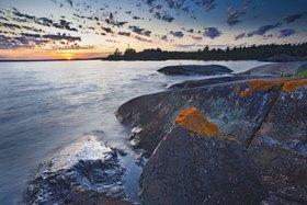Seeufer am Lake Huron bei St. Joseph, County Huron, Ontario, Kanada