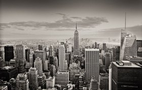 Blick zum Empire State Building, Manhattan, New York City, New York, USA