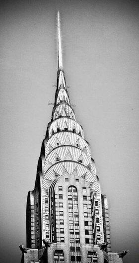 Turmspitze des Chrysler Buildings, Manhattan, New York City, New York, USA
