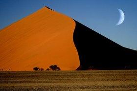 Sosusvlei Düne bei Sesriem, Namib Wüste, Namibia