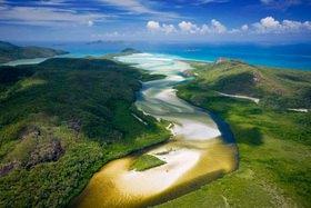 Hill Inlet, Whitsunday Island, Queensland, Australien