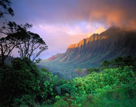 Na Pali Coast - Kalalau Valley, Insel Kauai, Hawaii, USA
