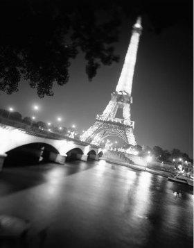 Seine, Tour Eiffel, Paris, Ile-de-France, Frankreich