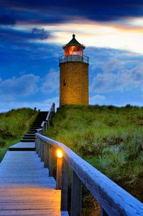 Ehemaliger Leuchtturm von Kampen, Insel Sylt