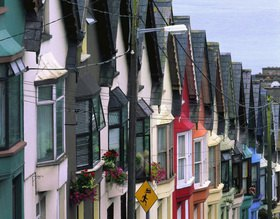 Typical architecture, Cork, Cork, Irland