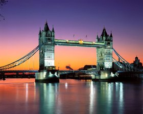 Tower Bridge, London, Südengland, Großbritannien