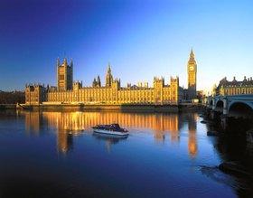 Parlament und Big Ben, London, Südengland, Großbritannien