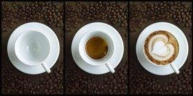 Universita del Cafe, Espresso und Cappuccino, Italien
