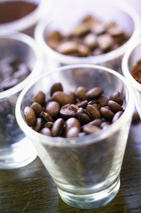 Universita del Cafe, coffee beans