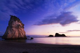 Coromandel Peninsula, Cathedral Cove near Hahei, North Island, Neuseeland