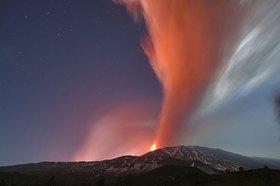 Mount Etna, eruprion of November 2007, south-west side, Sizilien, Italien