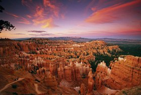 Scenic road N 12, Bryce Canyon National Park, Utah, Vereinigte Staaten, USA