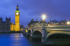 Westminster Bridge, Palace of Westminster, Big Ben, London, Gro?britannien, Vereinigtes Königreich