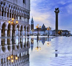 Markusplatz, Dogenpalast, Venedig, Provinz Venezia