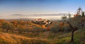Giano dell'Umbria, Provinz Perugia, Umbrien, Italien