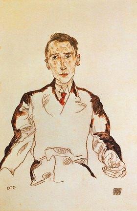 Egon Schiele: Bildnis von Dr. Heinrich Rieger