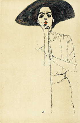 Egon Schiele: Frauenbildnis