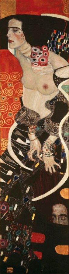 Gustav Klimt: Judith II, auch Salome. Öl auf Leinwand