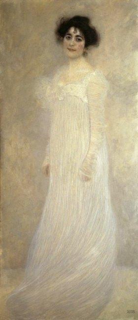 Gustav Klimt: Bildnis Serena Lederer. Öl auf Leinwand
