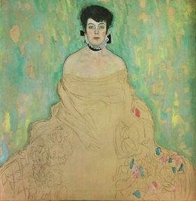 Gustav Klimt: Bildnis Amalie Zuckerkandl. Öl auf Leinwand